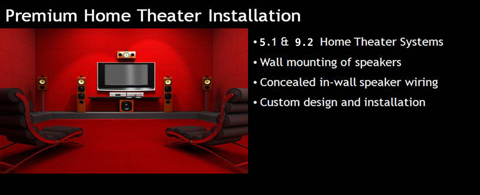 Home Theater Installation Services